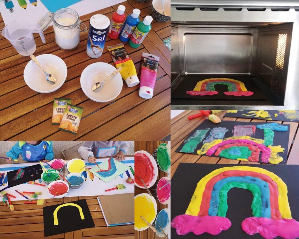 Image de la recette de peinture gonflante pour enfants